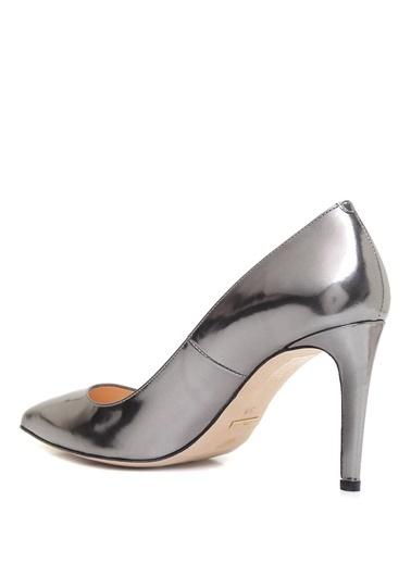 Beymen Collection İnce Topuklu Deri Abiye Ayakkabı Antrasit